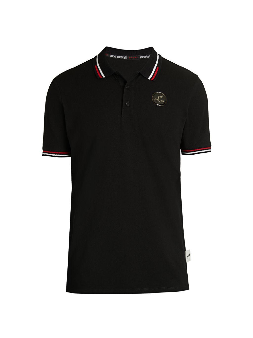 Roberto cavalli SPORT Pique Polo Shirt