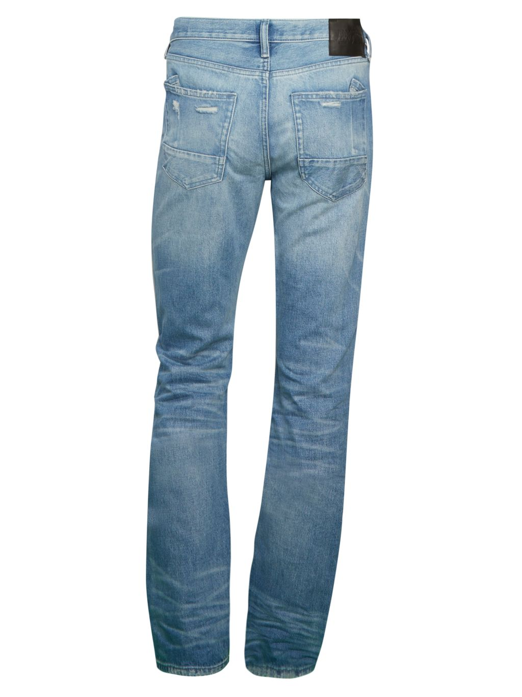Prps Carrollton Destroyed Straight Jeans