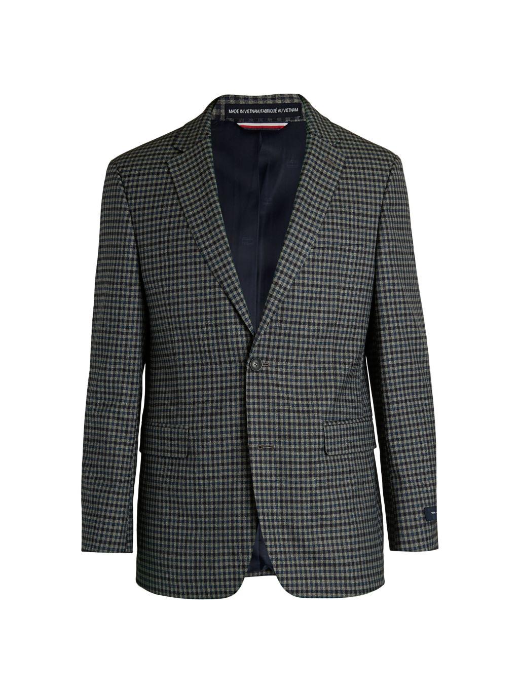 Tommy Hilfiger Regular-Fit Checker Jacket