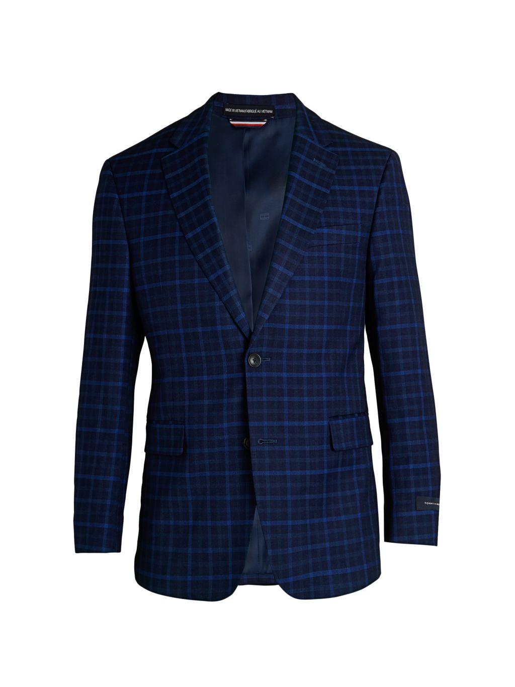 Tommy Hilfiger Regular-Fit Check Jacket