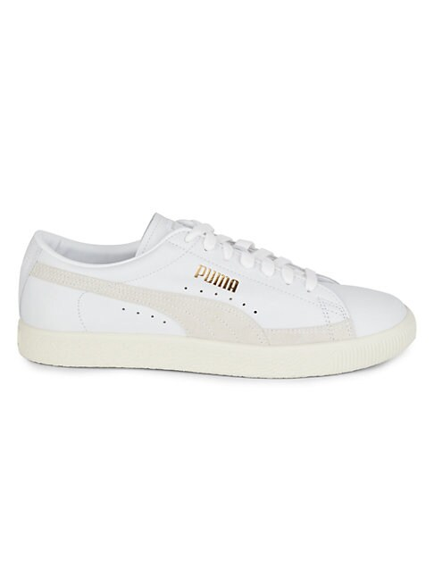 Puma THE ARCHIVE BASKET LEATHER & SUEDE SNEAKERS