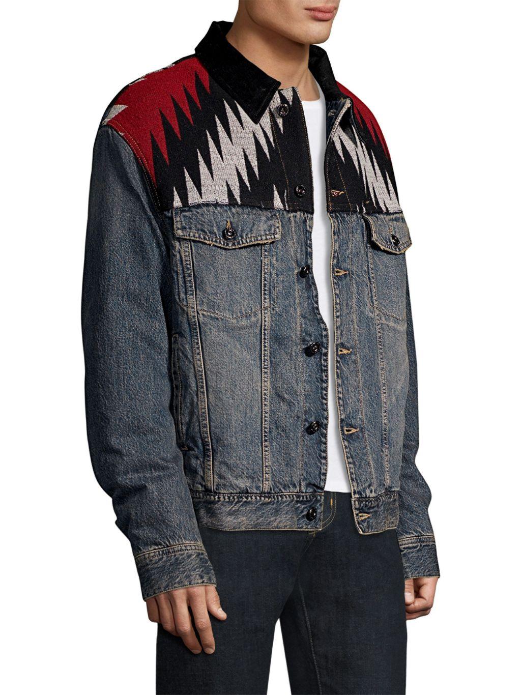 Diesel DBG Embroidered Denim Jacket