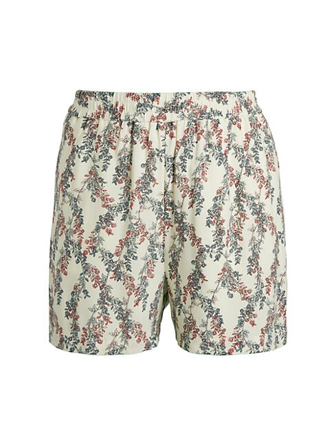 Bcbgmaxazria FLORAL PULL-ON SHORTS