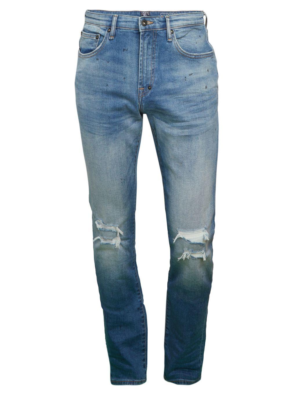 Prps Le Sabre Low-Rise Slim Jeans