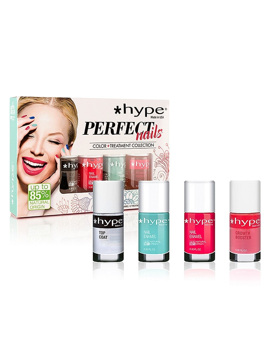 Women's Perfect Nail Growth 3-Step 4-Piece Color & Treatment Collection