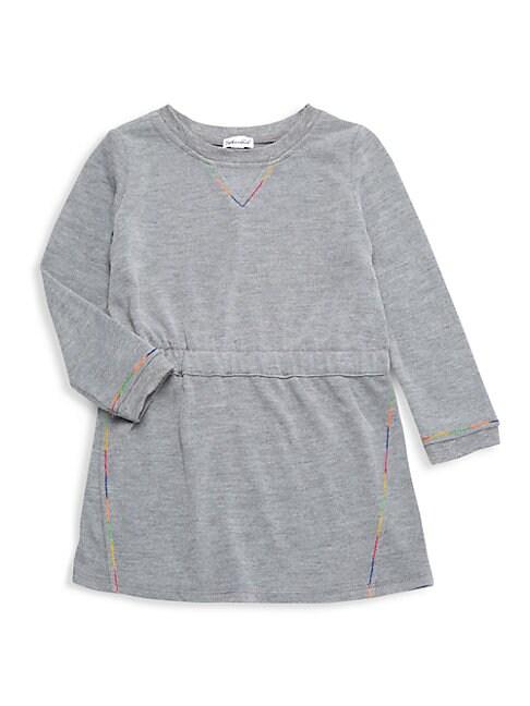 Splendid LITTLE GIRL'S RAINBOW STITCH DRESS