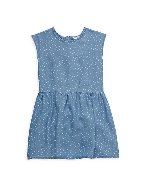 Splendid LITTLE GIRL'S PRINTED SLEEVELESS DRESS
