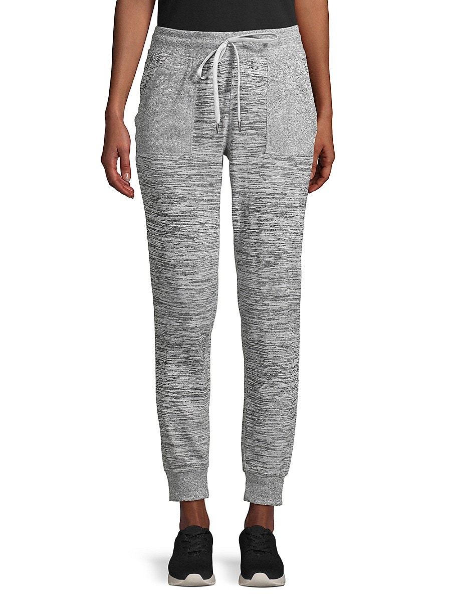Women's Tapered Marled Joggers