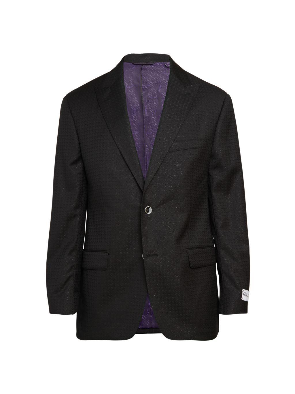 Robert Graham Houndstooth Wool-Blend Jacket