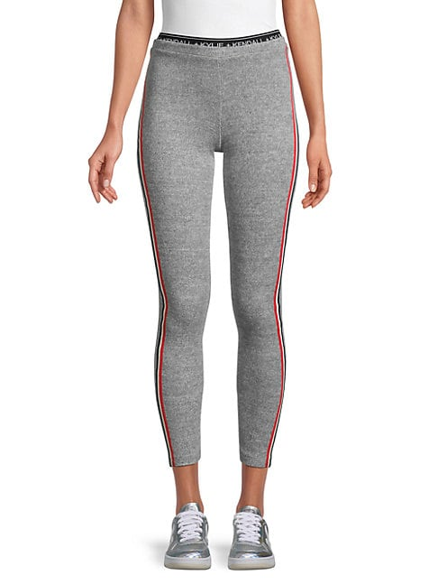 Kendall + Kylie RACING STRIPE JOGGERS