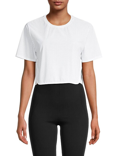 The Upside TRACK CROPPED T-SHIRT