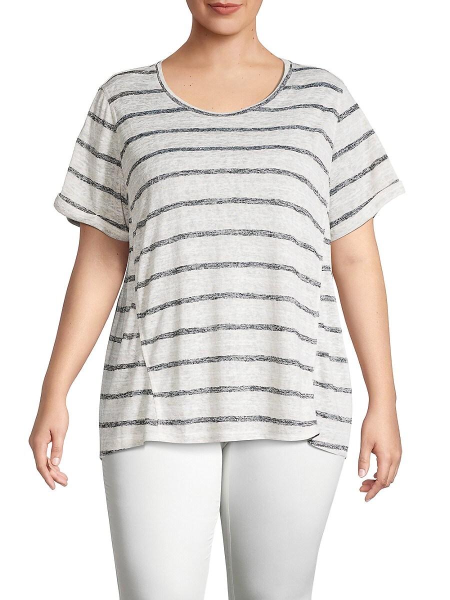 Women's Plus Ellery Striped T-Shirt