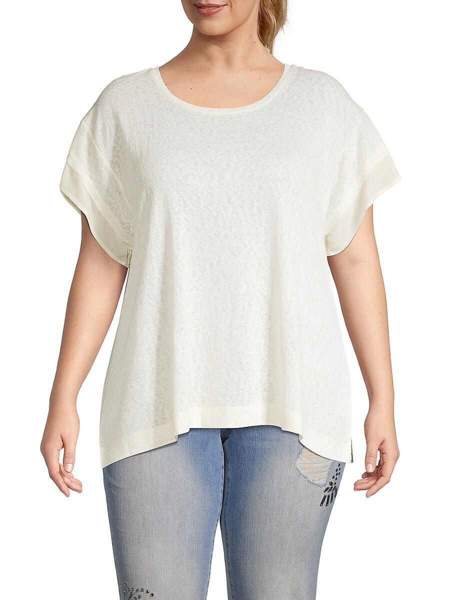 Women's Plus Madeline Kimono Sleeve T-Shirt