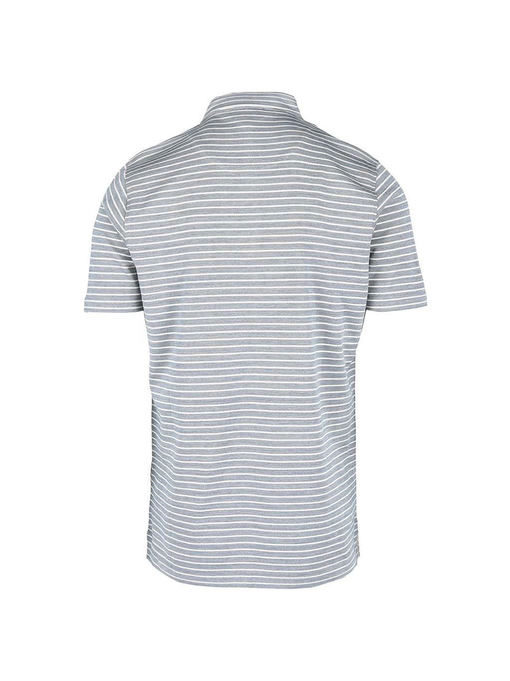 Dunhill Regular-Fit Cotton & Silk Stripe Polo