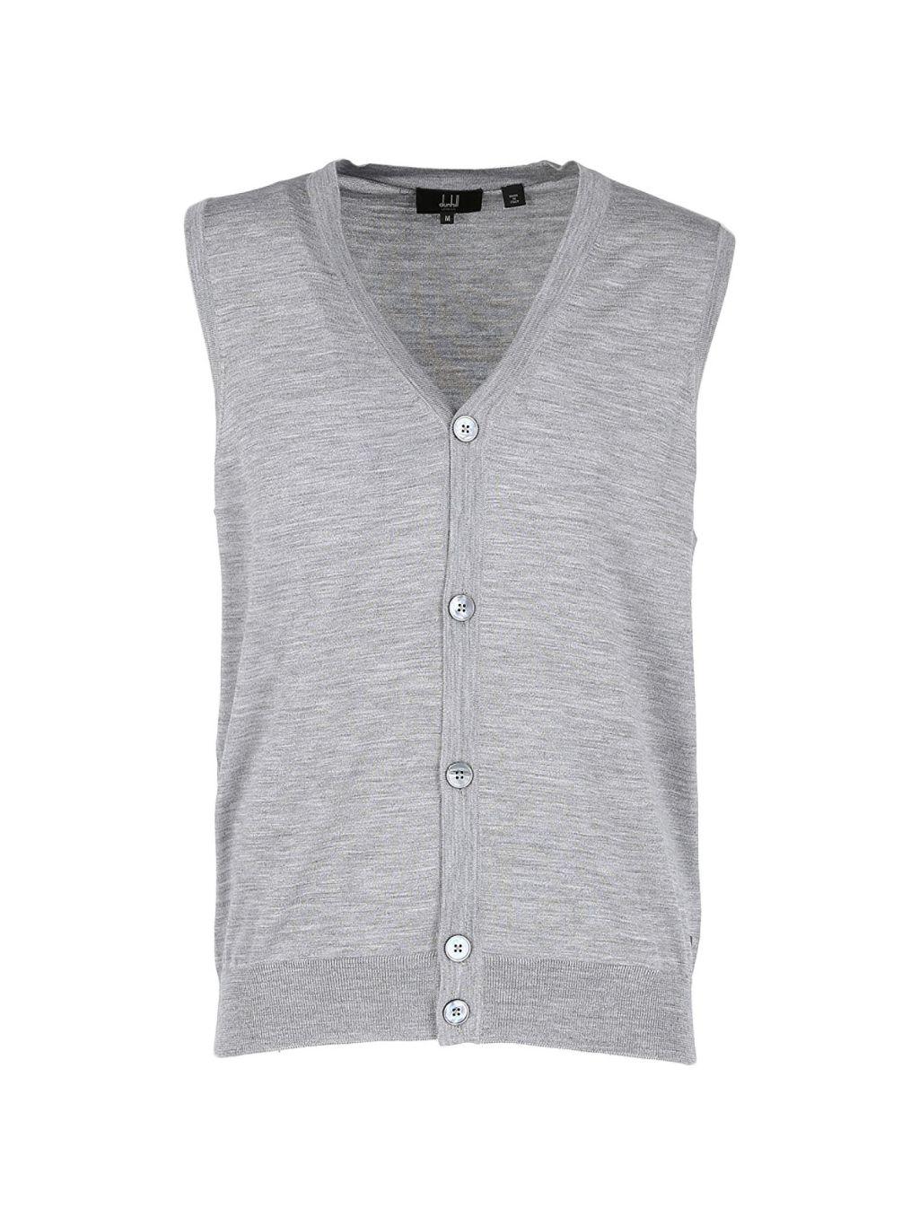 Dunhill Fine Gauge Merino Wool Sweater Vest