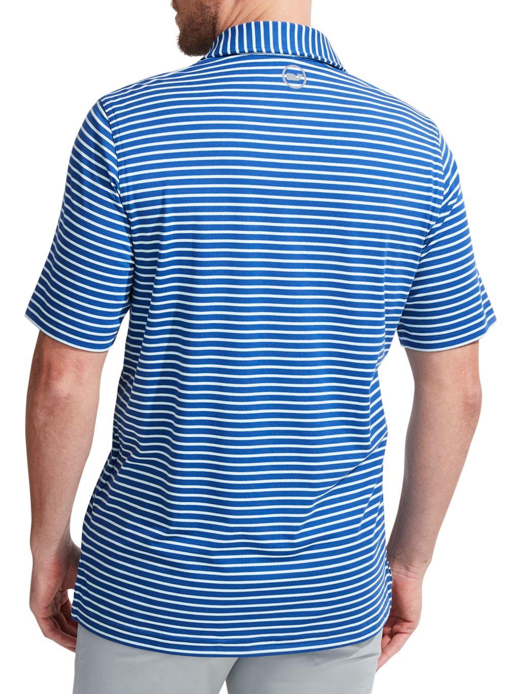 Vineyard Vines Jim Nantz Cypress Stripe Polo T-Shirt
