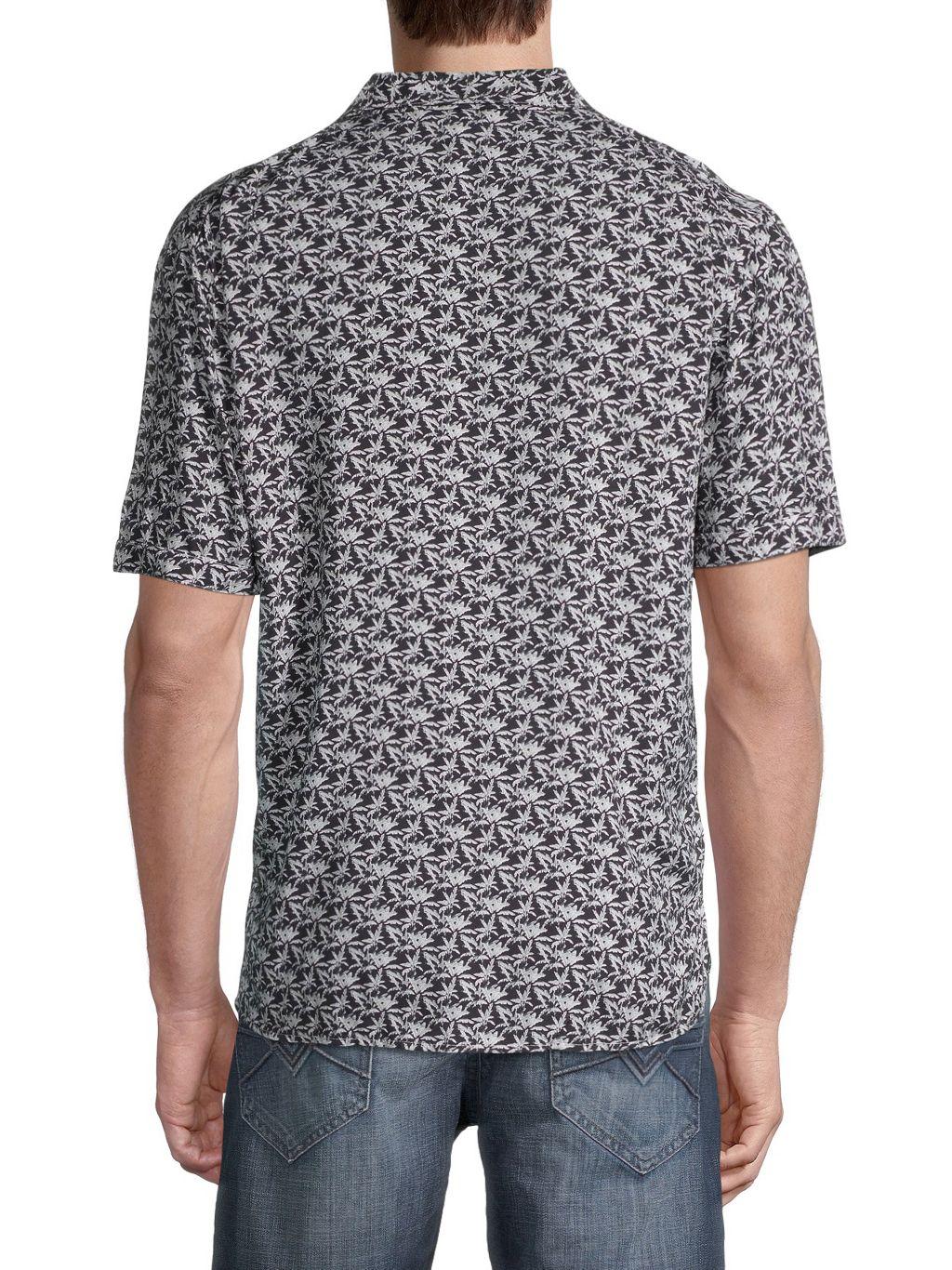 Eleven Paris Printed Short-Sleeve Shirt