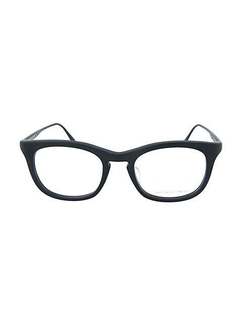 Bottega Veneta Novelty 49MM Square Optical Glasses