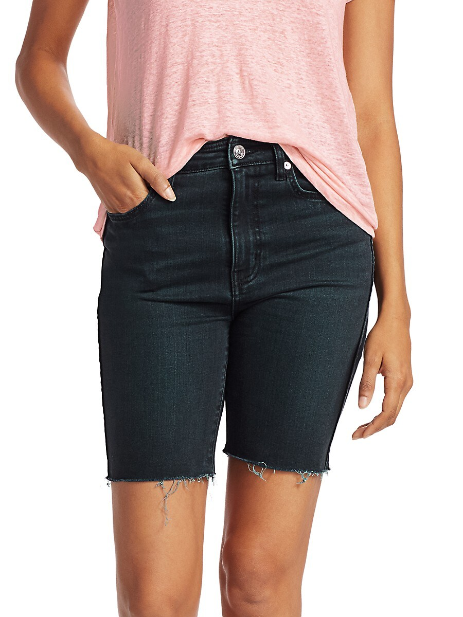 Current/Elliott Women's The Truby Virens Denim Shorts