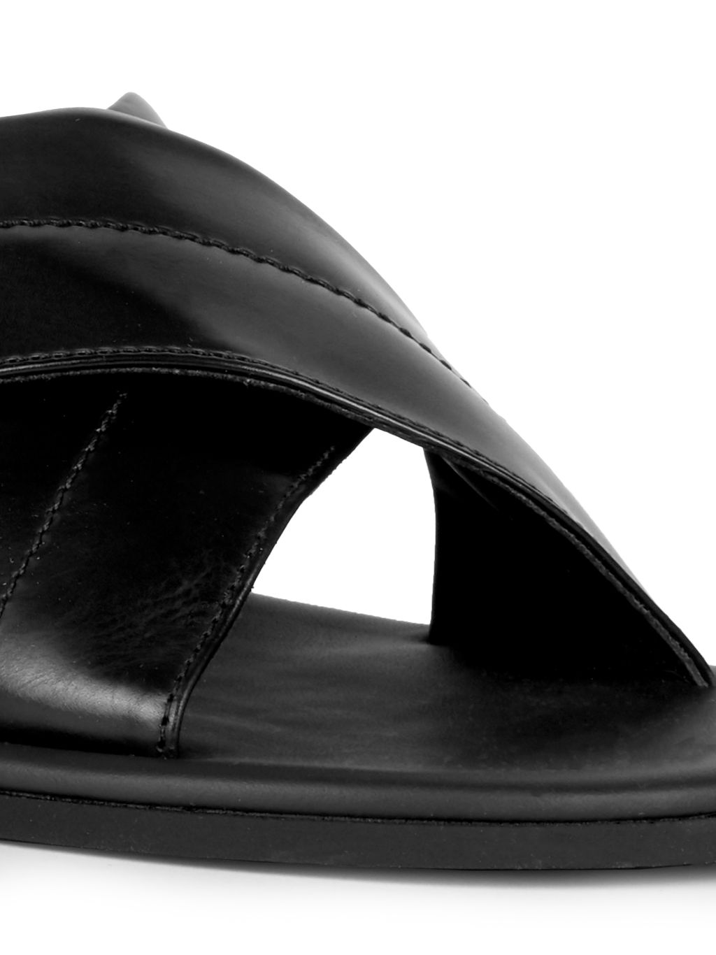 To Boot New York Costa Rica Leather Flat Sandals
