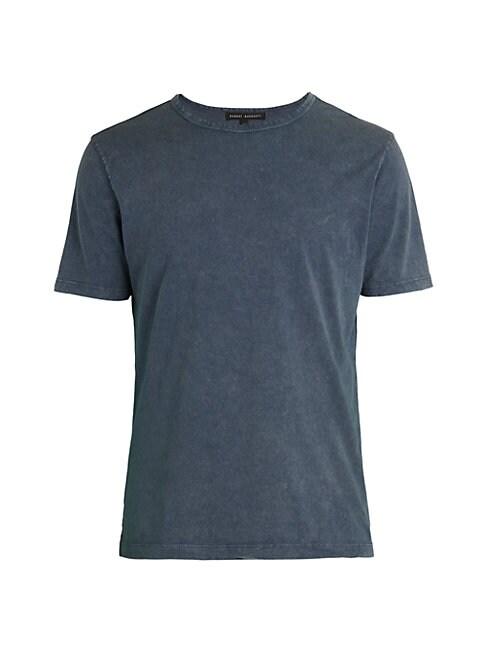Robert Barakett Coachman Faded T-shirt In Indigo