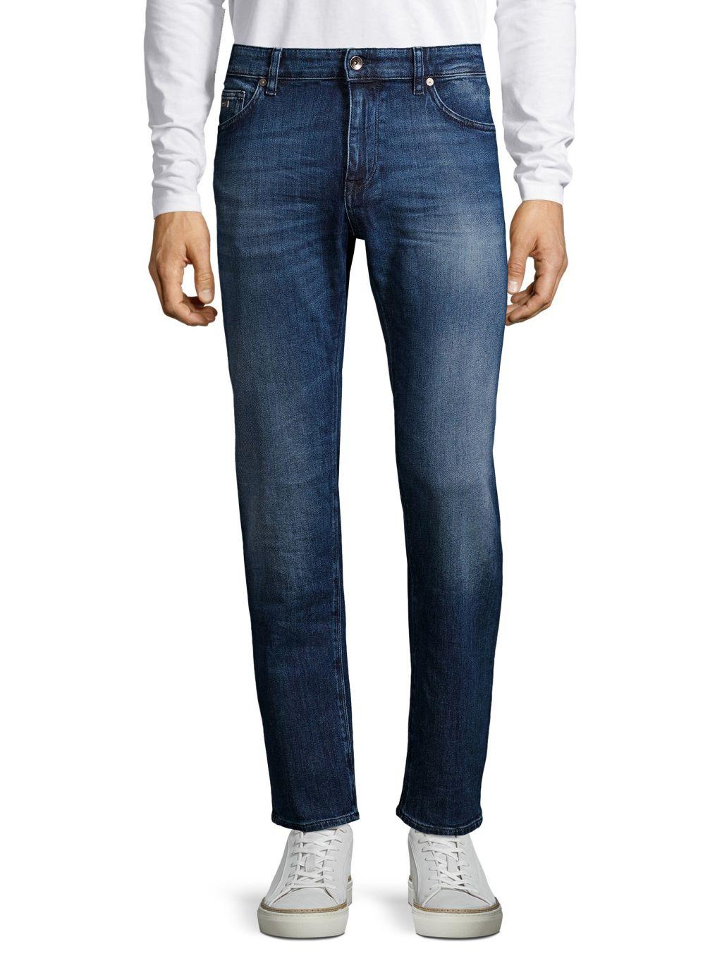 Hugo Boss Maine Faded Jeans