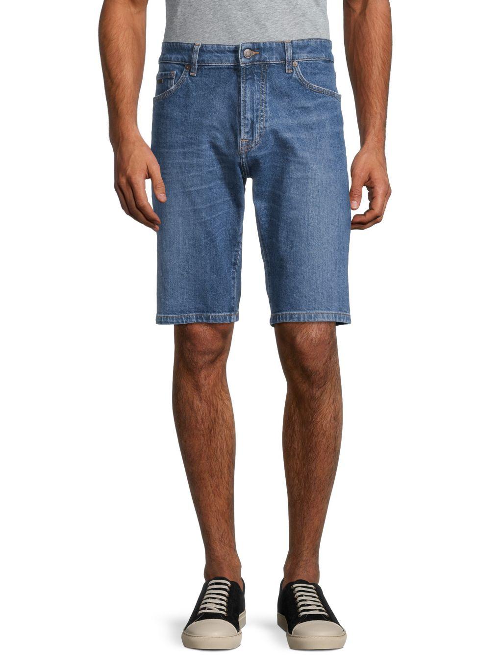 Boss Hugo Boss Maine Denim Shorts