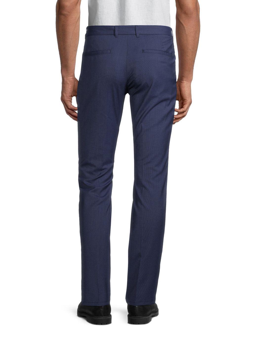 Hugo Hugo Boss Heldor 2 Flat-Front Trousers