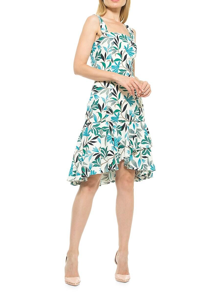 Women's Ariana Floral Flounce Dress