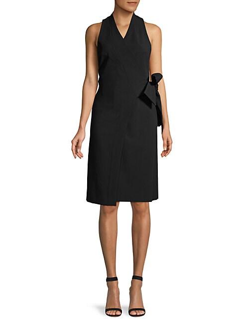 Donna Karan KIMONO WRAP DRESS