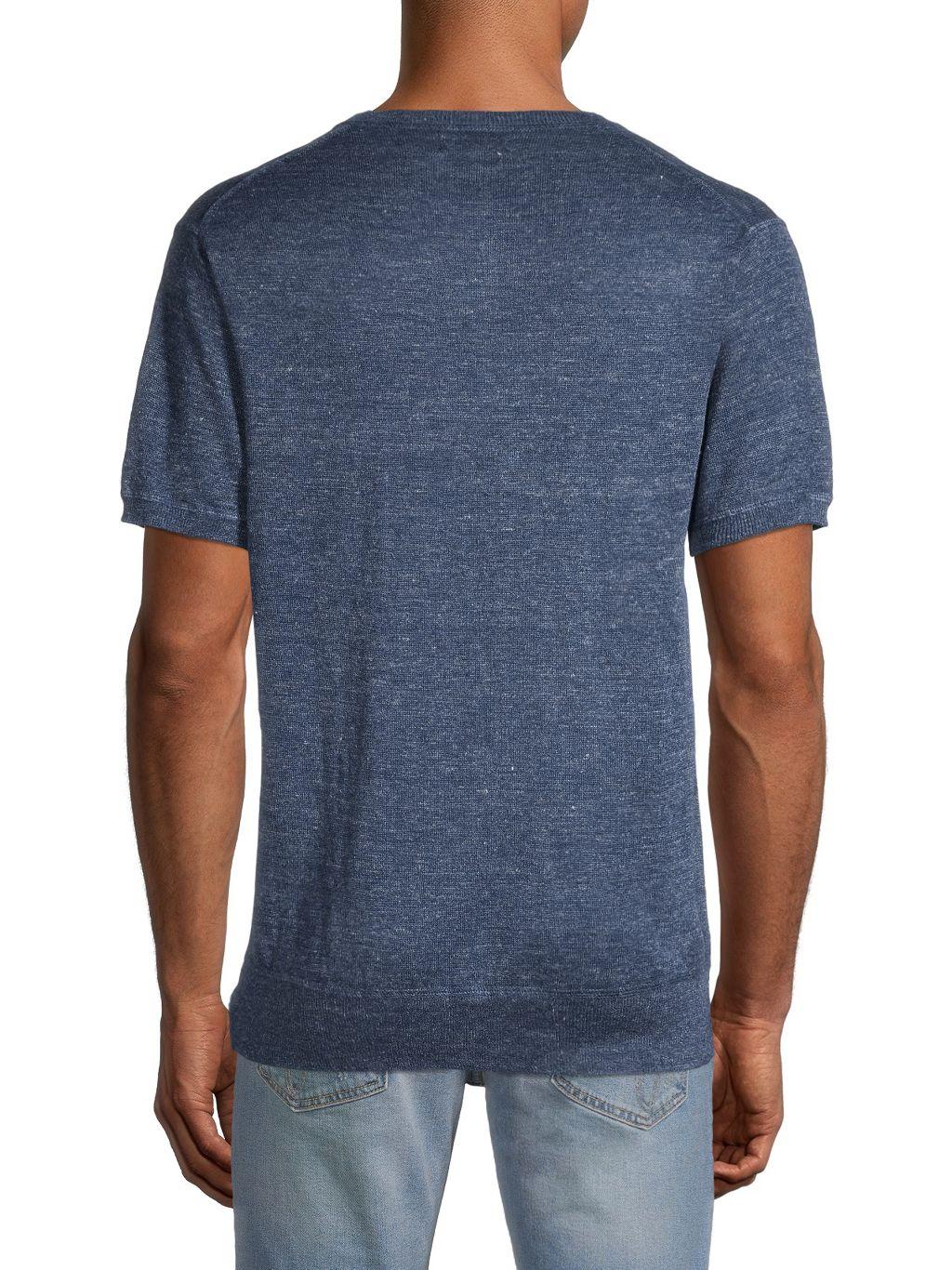 Bonobos Linen Henley T-Shirt