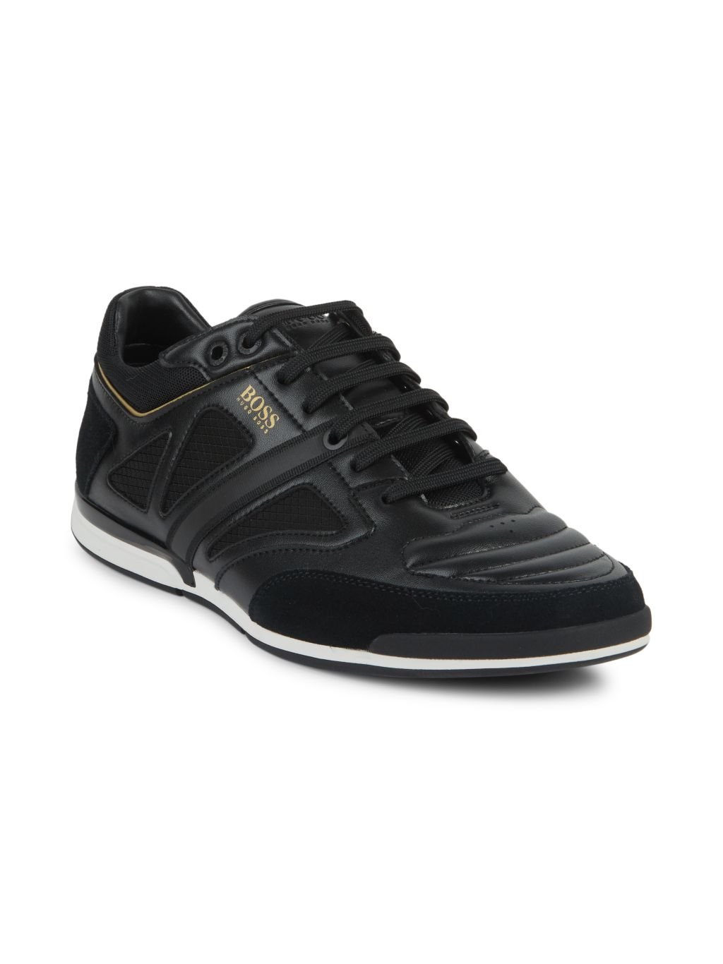Boss Hugo Boss Saturn Mixed-Media Sneakers