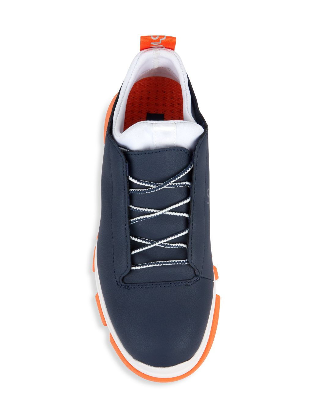 Swims City Hiker Leather-Coated Sneakers