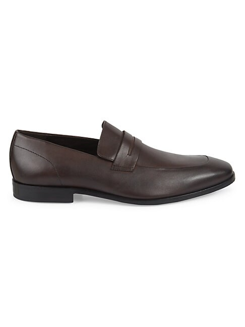 Hugo Boss HIGHLINE LEATHER PENNY LOAFERS
