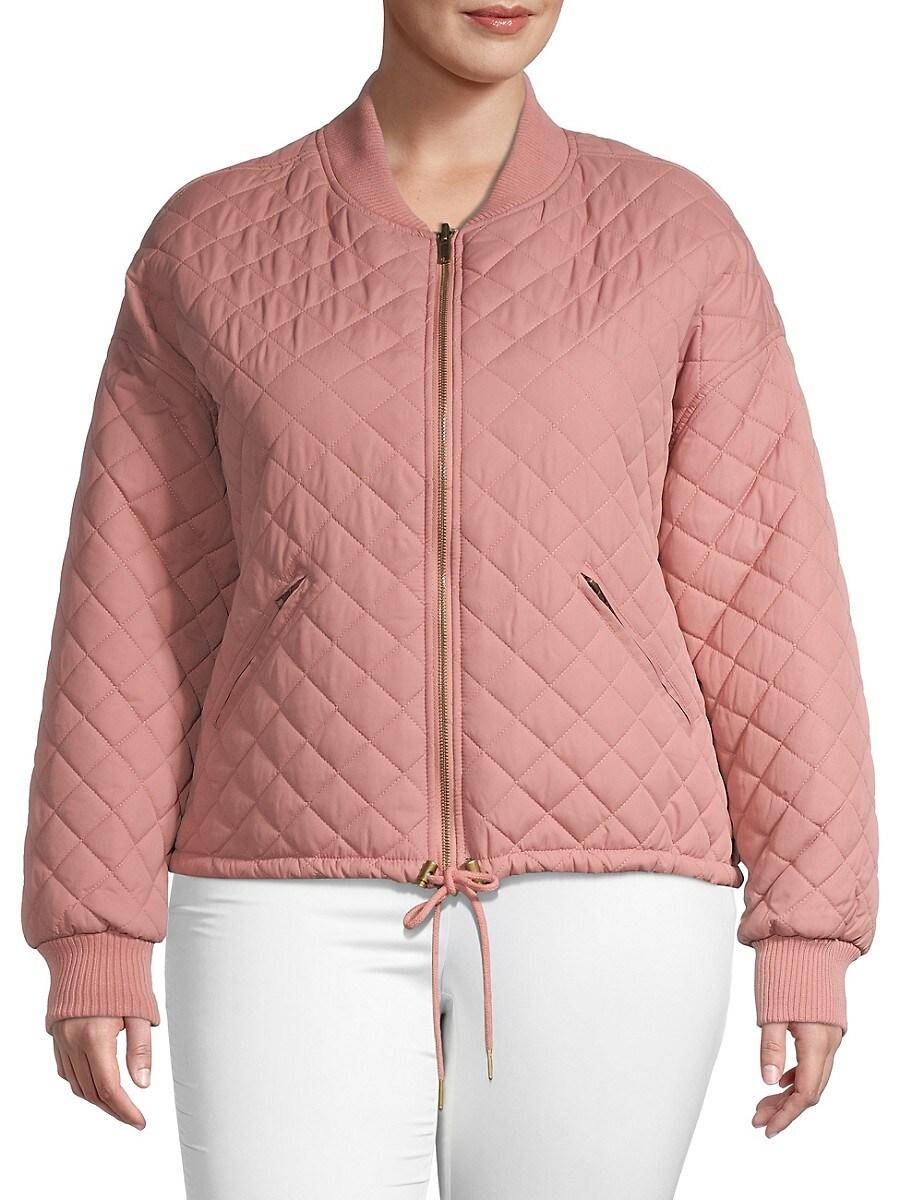 Women's Plus Reversible Bomber Jacket