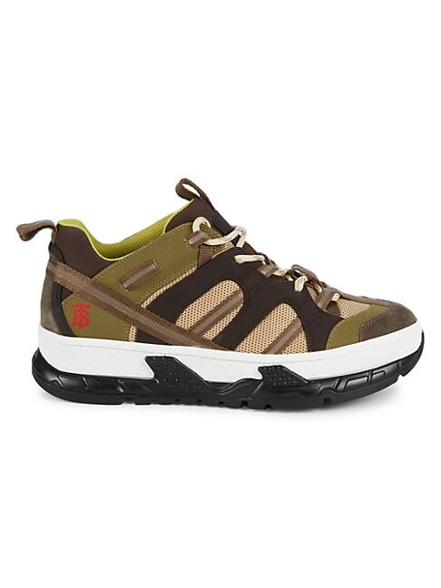 Burberry RS5 LOW-CUT MIXED MEDIA SNEAKERS