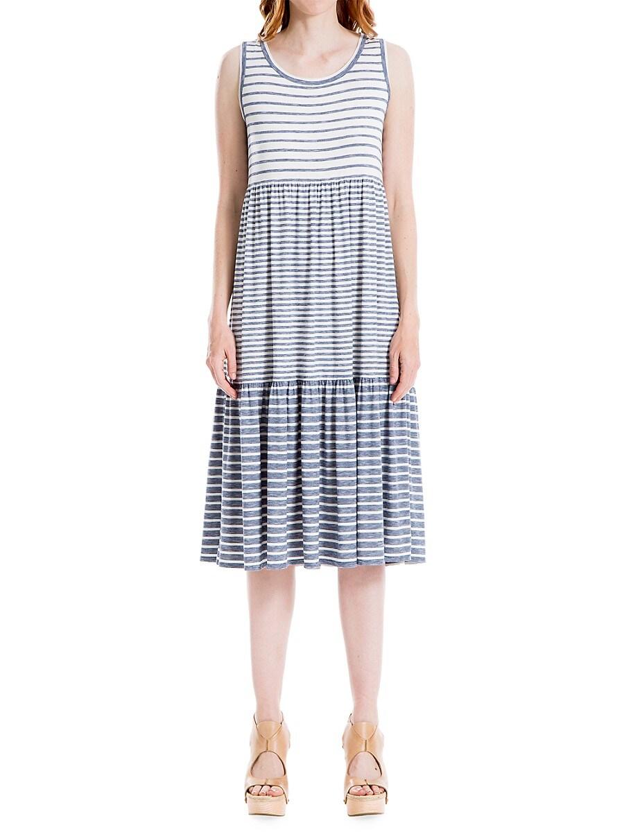 Women's Striped Shift Dress