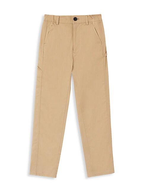 Burberry Kids' Little Boy's & Boy's Kb4 Carpenter Trousers In Honey