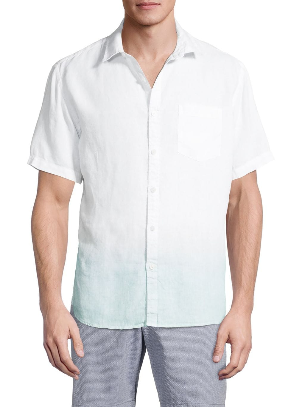 Original Paperbacks Rome Short-Sleeve Linen Shirt