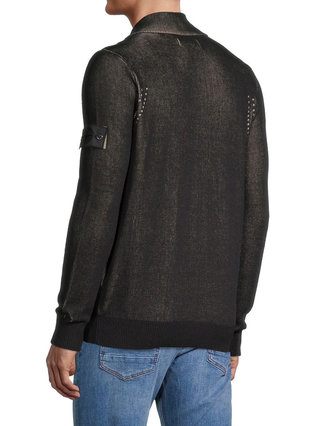 Stone Island Zip-Front Sweater