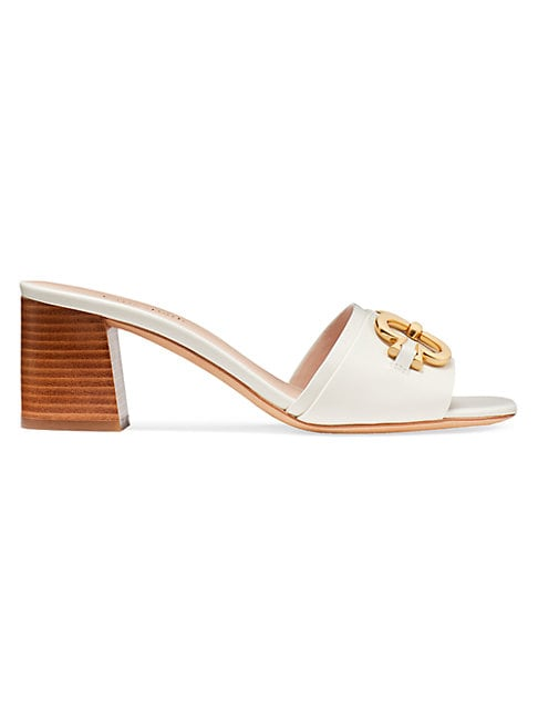 Kate Spade ELOUISE BUCKLE LEATHER SANDALS