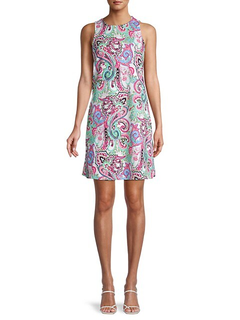 Saks Off 5th: Pappagallo Paisley Shift Dress $27.99 (64% OFF)