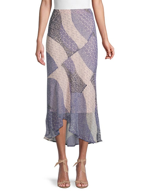 Bb Dakota PATCH ME IN MIDI SKIRT