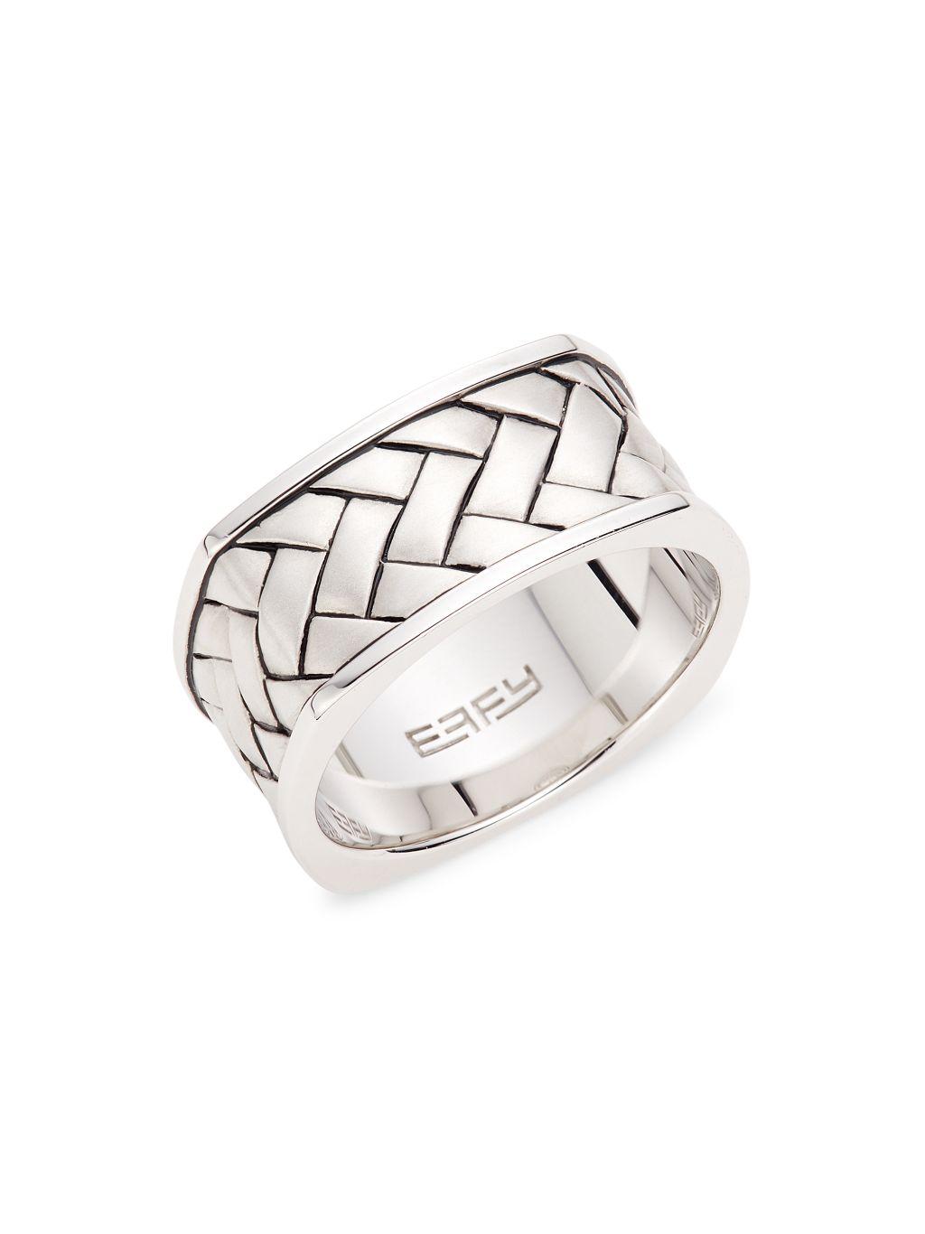 Effy Sterling Silver Band Ring