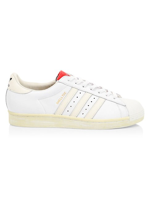 Adidas Originals SHELL-TOE LEATHER SNEAKERS