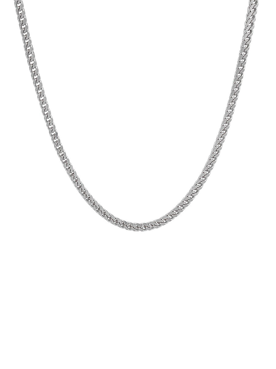 Men's Stainless Steel Petite Franco-Link Necklace