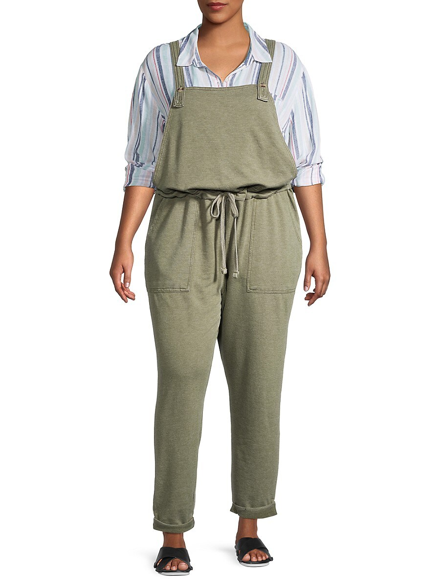 Women's Popover Overall Jumpsuit