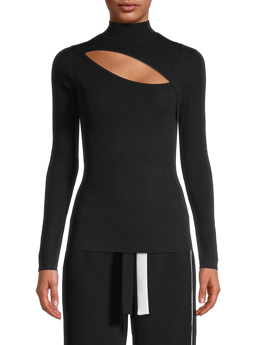Women's Front Cutout Sweater