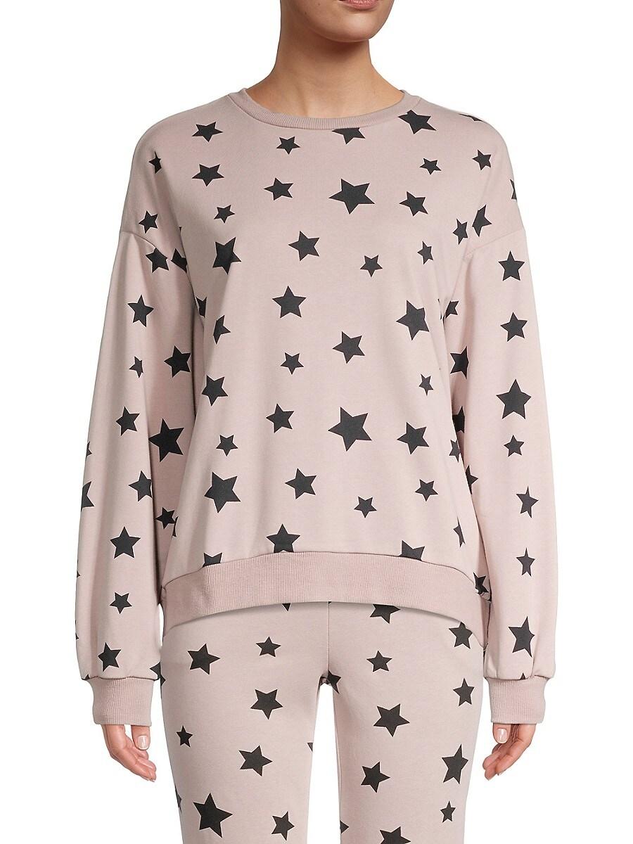 Women's Star-Print Sweatshirt