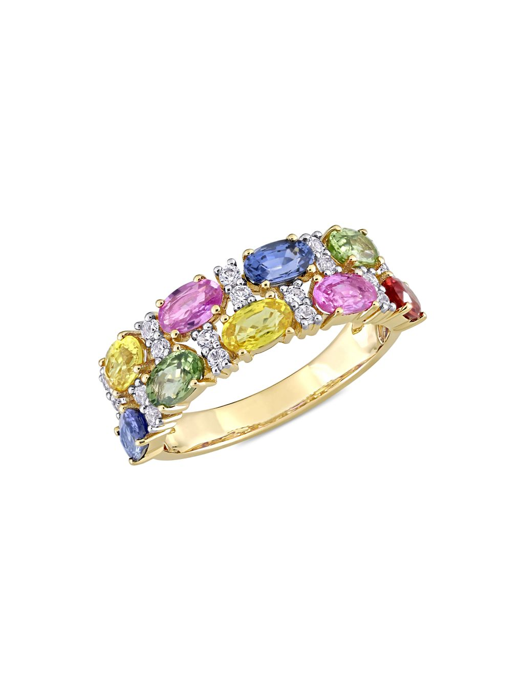 Sonatina 14K Yellow Gold & Multicolor Sapphire Ring